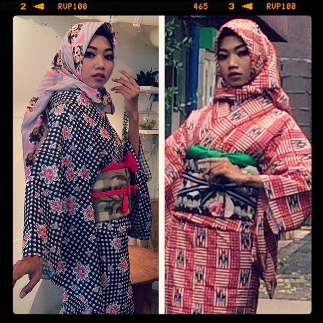 【ラフォーレ】【着物】 TOKYO KAWAII MUSEEでは、ムスリムのお客さまにも着物をお楽しみいただけるように着物とマッチするオリジナルヒジャブをご用意しています。首元をカバーできるヒジャブをお持ちください。 [Laforet] [kimono] In TOKYO KAWAII MUSEE, also to customers of Muslim and it offers a hijab to become a kimono as enjoy a kimono. Please have a hijab to be able to cover the neck.. #kimono #キモノ #着物 #きもの #yumi_kimono #yamamotoyumi #やまもとゆみ #kawaii #tokyokawaiimusee #ラフォーレ原宿 #harajuku #tokyo #japan #hijab #Islam #Muslim モデルはハリスちゃん。きれいでバービーみたいでした。