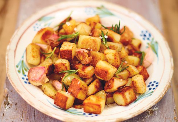 Jamie Oliver recipe - Crispy rosemary potatoes    for Mouths of Mums