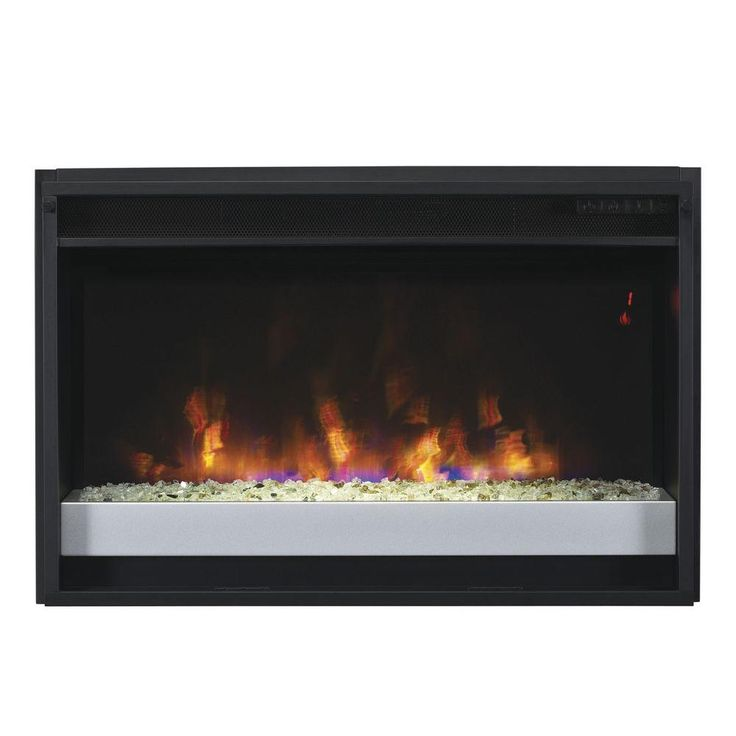 Best 25 contemporary electric fireplace ideas on pinterest - Contemporary electric fireplace insert accessories ...