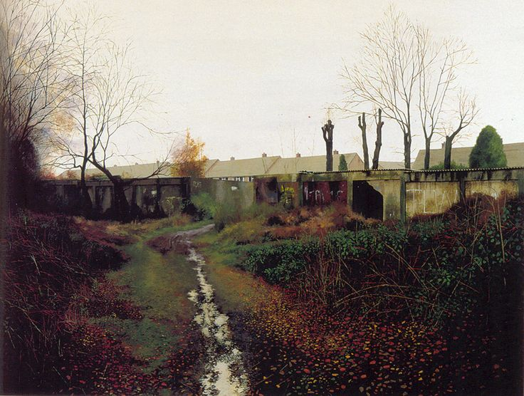 painting by George Shaw, 'Scenes from the Passion: Hometime' 1999
