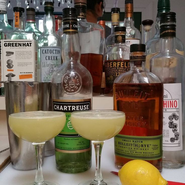 17 best images about cocktails chartreuse on pinterest for Cocktail chartreuse