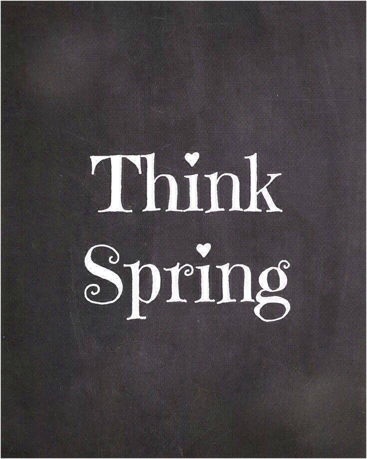 Lente. Think Spring.