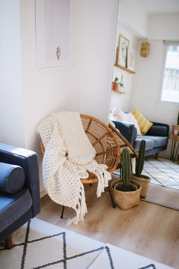 How to make your small space feel bigger #minimalist #design