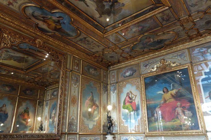 Giacomo Casa (1827-1887) Sala del Senato - The Hall of the Senate where Venice #biennale was born   Caffè #Florian a #Venezia San Marco - Florian #cafè in #Venice Saint Mark #travel #travelinspiration #italy #italia #veneto #instaitalia #italianalluretravel #lonelyplanetitalia #lonelyplanet #italianart #art