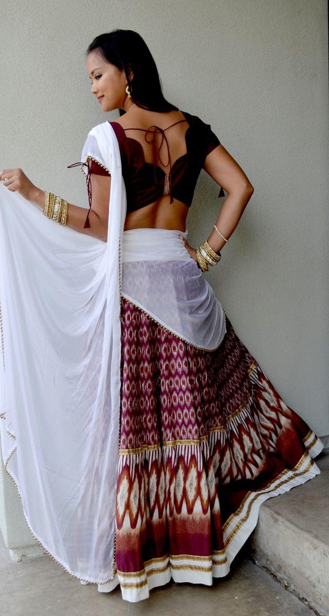 Captivating Cotton Lehenga | Dancing Gopi Skirt Outfits