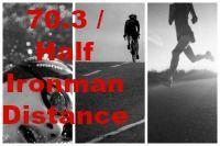 10 week training program for 70.3 / half ironman distance races  Maximum training hours per week: 13 hours Swim sessions: 4 Bike sessions: 3 Run sessions: 3 Brick sessions: 1  Longest training session: 3hours    The program includes: