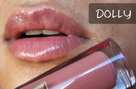 Buxom Lip Gloss in Dolly - My absolute favorite - it's the PERFECT color for the look I like best!