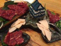 福岡市中央区警固にある一伍屋ここに来るとやっぱりこれ 熊本に本社があるお店ならではの新鮮な馬刺し 今日も美味しいです 一伍屋  大名店 http://ift.tt/2dU2Dms]