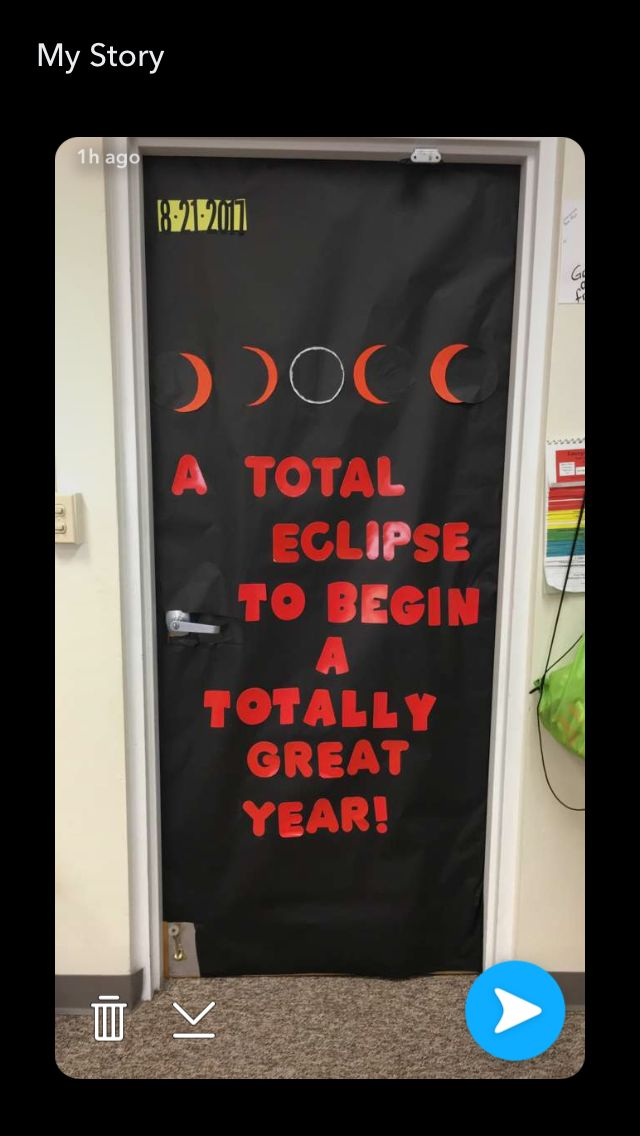 Solar Eclipse Bulletin Board