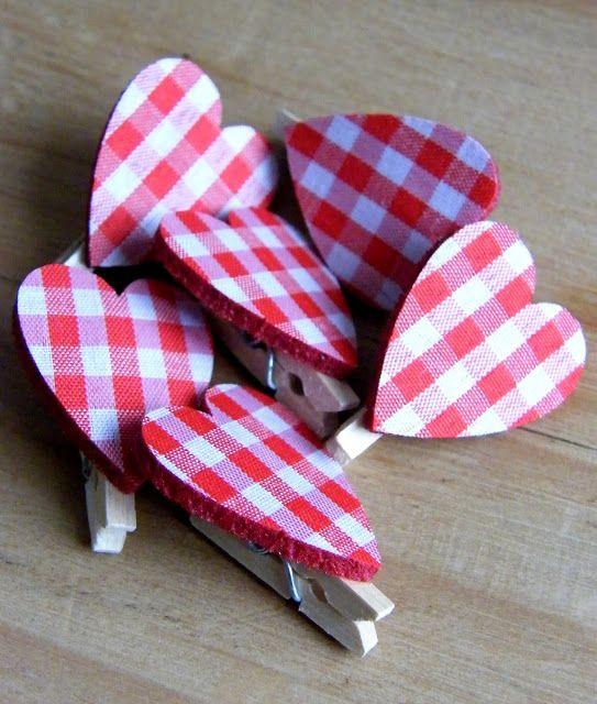 Cute heart on a peg-Annie's Place: January 2013