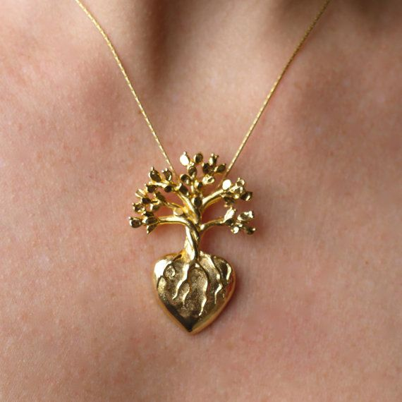 Frida 24 k Gold Filled Pendant on Gold Filled by sophiesimone, $98.00