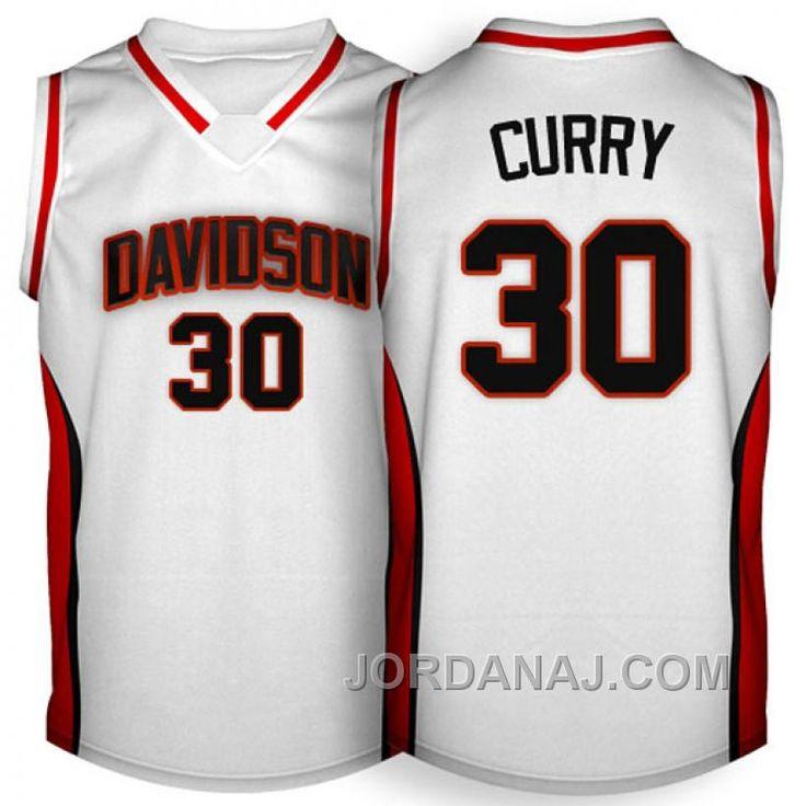 http://www.jordanaj.com/stephen-curry-davidson-college-wildcats-30-20072009-white-jersey.html STEPHEN CURRY DAVIDSON COLLEGE WILDCATS #30 2007-2009 WHITE JERSEY Only $89.00 , Free Shipping!