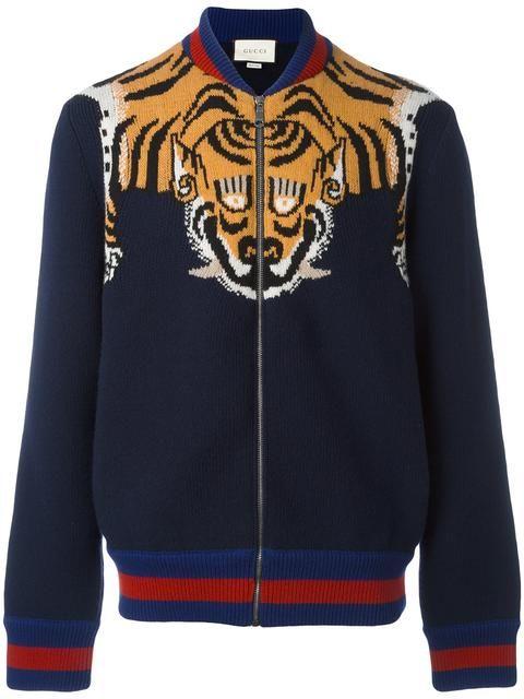 GUCCI tiger jacket. #gucci #cloth #jacket