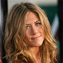 I love Jenifer Aniston's hair! Wish I could pull off blonde.