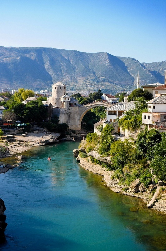 Attractive Mostar http://www.travelandtransitions.com/european-travel/  #Beautiful #Places #Photography