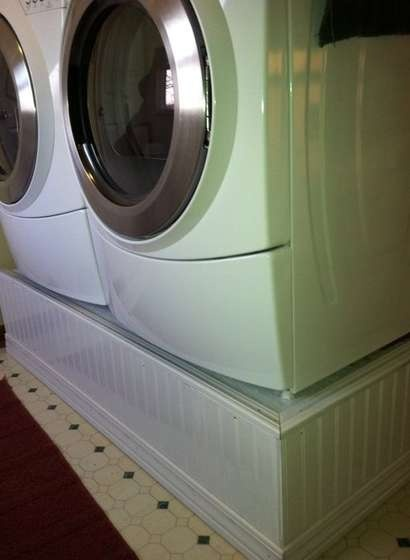 25 best ideas about laundry pedestal on pinterest laundry room pedestal washer and dryer. Black Bedroom Furniture Sets. Home Design Ideas