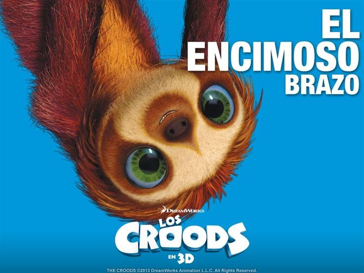 """Brazo de """"Los Croods"""""""