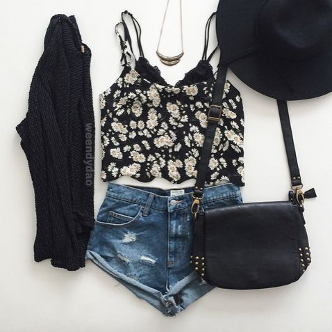 shorts are WAAAAY too short but cute outfit inspoo