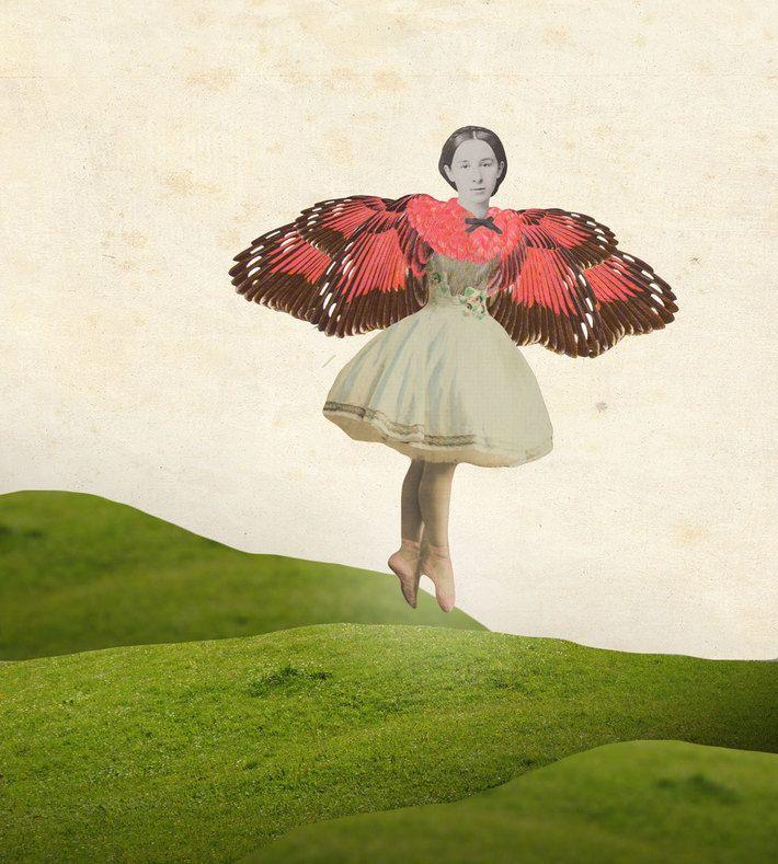 Digital Collage by Julia Geiser. You can buy this piece at www.artrebels.com #artrebels #art #digitalprints