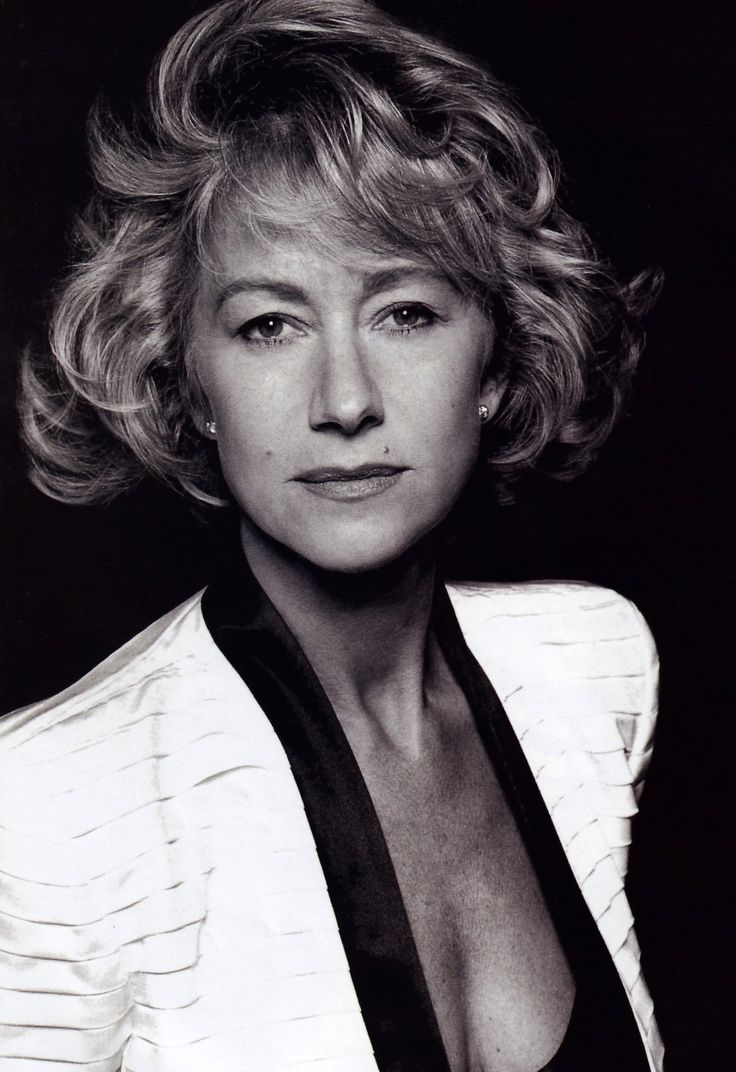 Helen Mirren (1945) - English actress. Photo by David Bailey for Vogue UK, December 1992.