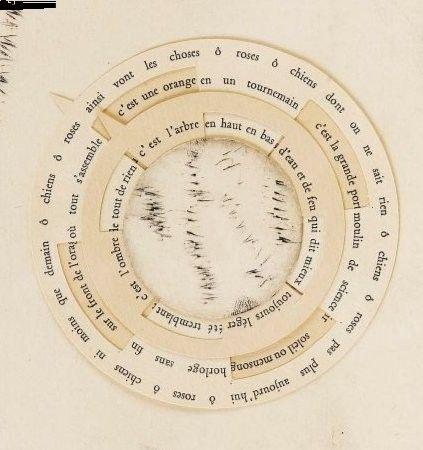 """Poème perpétuel """"La rose et le chien"""", Tristan Tzara et Pablo Picasso."""