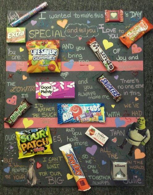 Imagenes De Candy Poster For Boyfriend Valentines Day