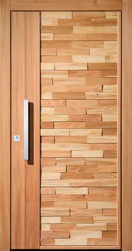 Pieno Haustüre Modell Sölden in Holz. Die exklusiven Pieno Haustüren jetzt auch…