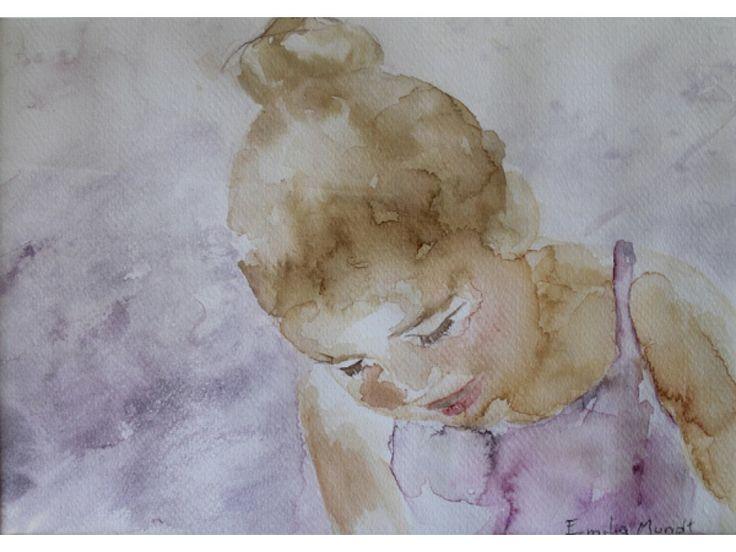 "Emilia Mundt | Arte Al Límite | Revista Periódico Web ""Belén"" acuarela, 26 x 36 cm, 2013"