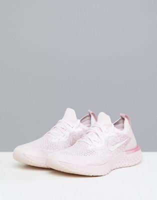 44a21c3231e Nike Running Epic React Trainers In Pink Matcha