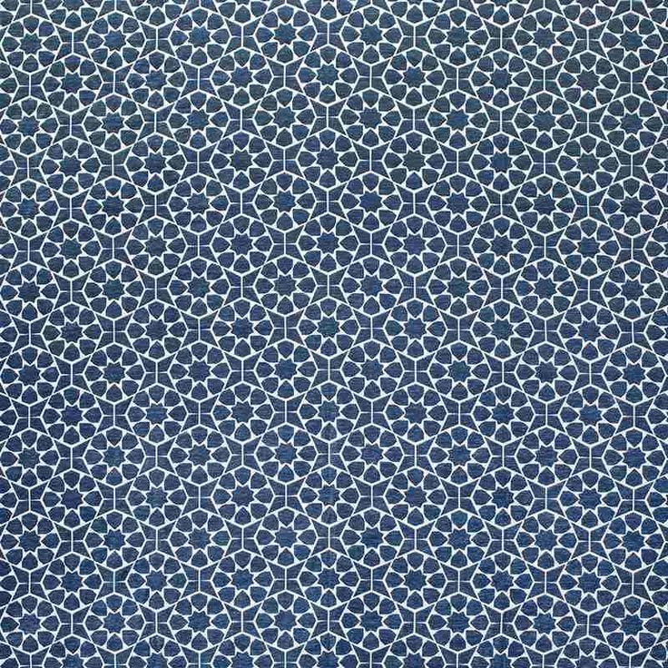 Warwick Fabrics : MARISOL, Colour OCEAN