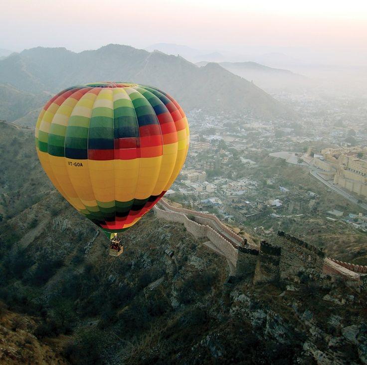Flying over Amber Fort