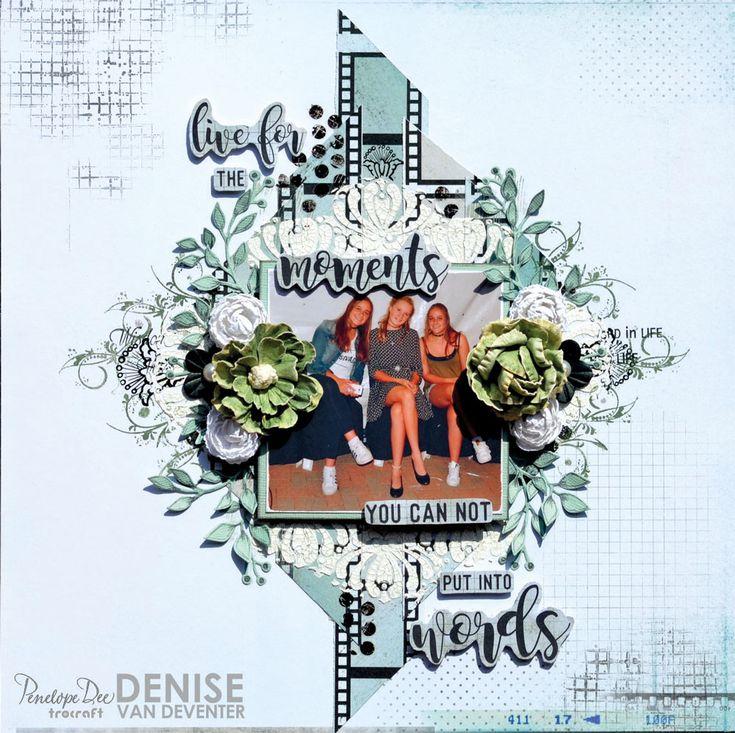 Single layout by Denise van Deventer