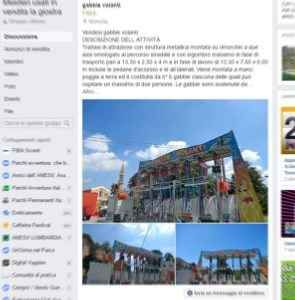 """Gruppi Facebook: """"Mestieri usati in vendita la giostra"""", 40.000 annunci e 14.500 utenti L'esperienza di """"Mestieri usati in vendita la giostra"""" un gruppo Facebook di annunci con numeri interessanti. Si vendono giostre e attrezzature per luna park e parchi divertimento. Le attrazioni usat #gruppi #facebook"""