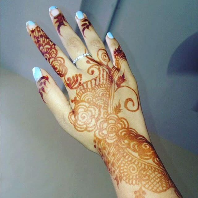 61 Easy, Simple and Traditional Henna Arabic Mehndi Designs