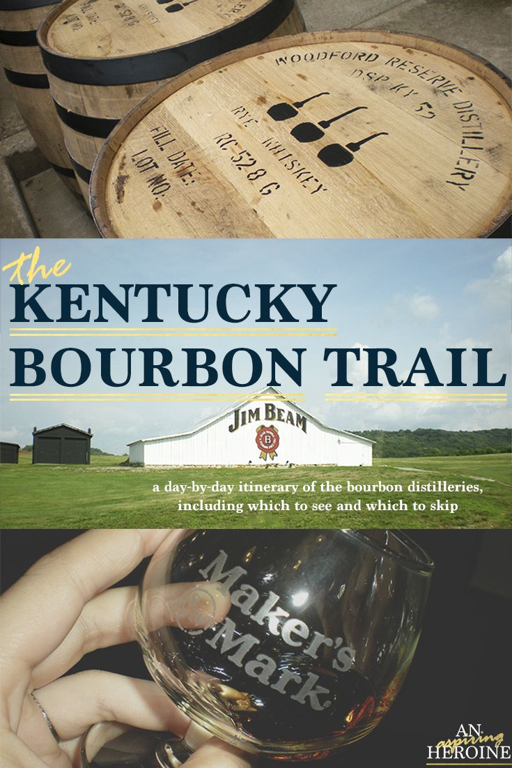 Kentucky Bourbon Trail a guide to all