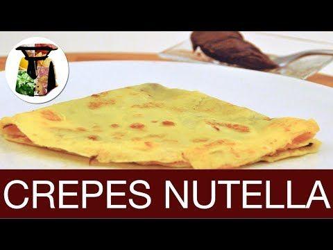 Crepes Bimby alla Nutella