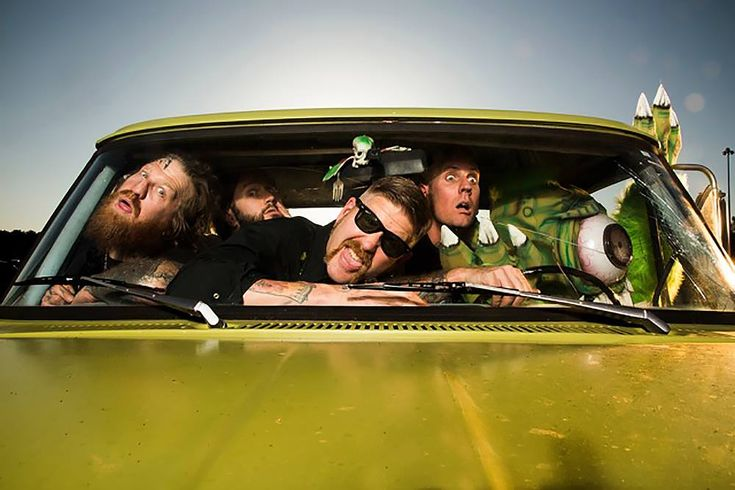 Mastodon to perform 'The Motherload' on the Late Show with David Letterman on Oct.27