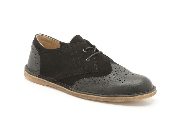 mens originals shoes jink brogue in black combi leather from clarks shoes