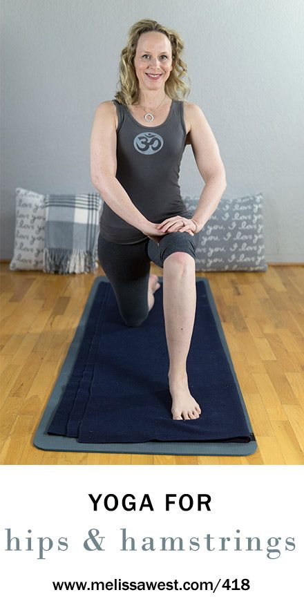 60 min Intermediate Yin Yoga for Hips and Hamstrings   Yoga with Dr. Melissa West 418