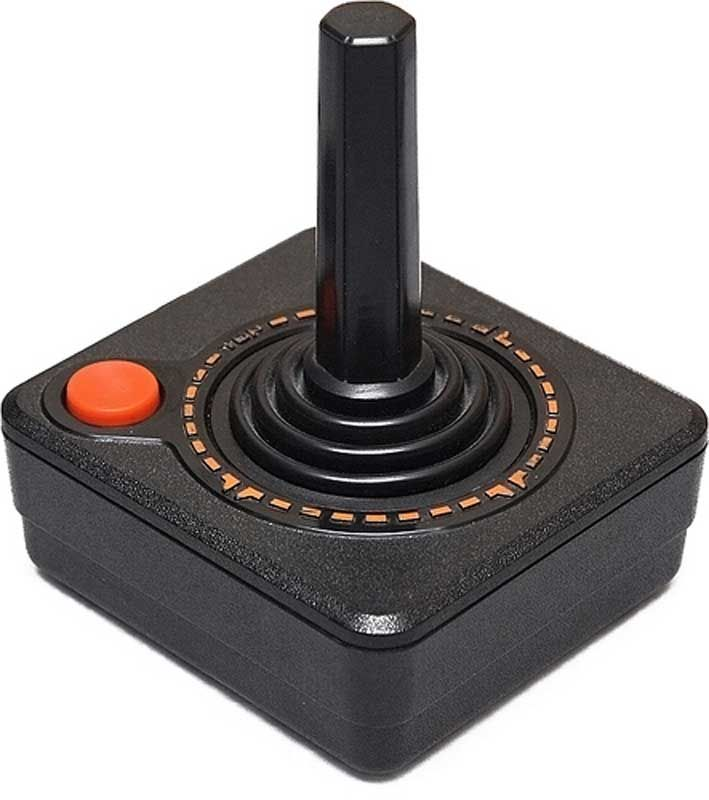 There is nothing more iconic to me in video gaming than the sight of an Atari 2600 joystick. Memories come flooding back at the  mere sight of it (Atari 2600 VCS)