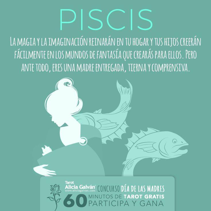 #Piscis ♓ ¿quieres ganar una consulta de #Tarot de 1 Hora? Participa en nuestro Concurso Especial Día de las Madres y hazte con ella. Registrate aquí: