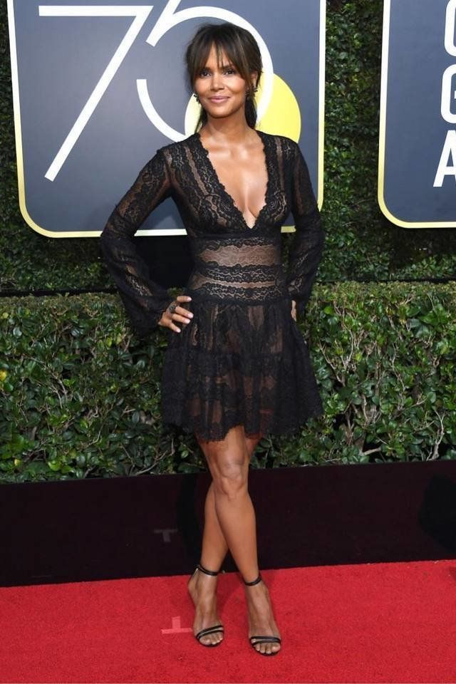 a4a6131e5b4 Halle Berry at the Golden Globes 2018  goldenglobes