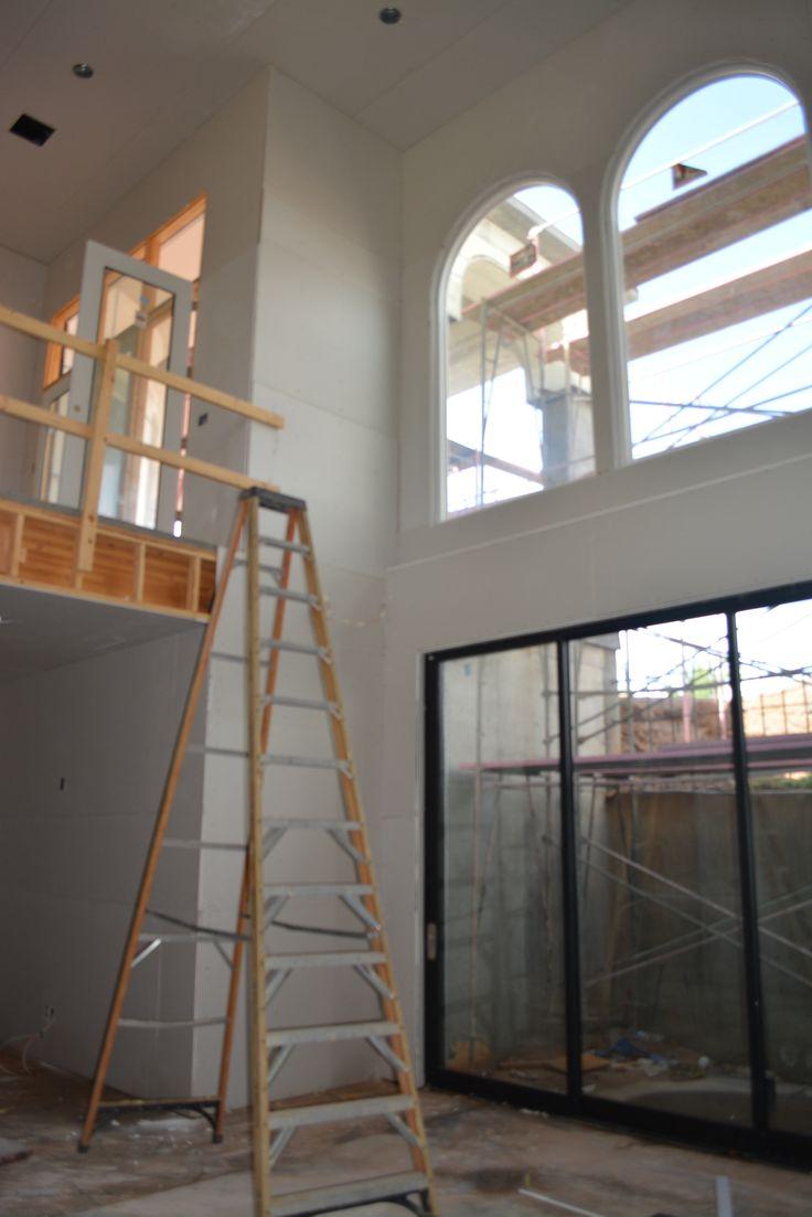 Current Project in Estados at Seville, Seville Golf & Country Club, Gilbert AZ - Mediterranean Estate - 2-Story Basement for Indoor Trampoline