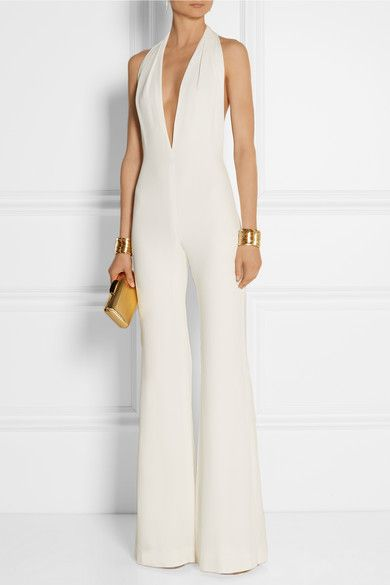 17  best images about White Silk Jumpsuits on Pinterest | Irina ...