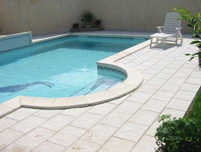 Resultado de imagen de plantillas hormigon impreso blanco - Piedra natural para piscinas ...
