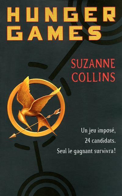"""""""Hunger Games"""" de Suzanne Collins ;    Dans le district de Panem, deux adolescents participent au jeu de la Faim. Le vainqueur des épreuves est le dernier survivant. Katniss et Peeta sont les élus du district numéro 12. Ils sont alors chargés de la prospérité de la localité pendant une année... Alors que le jeu télévisé n'est pas tout à fait terminé, Peeta déclare sa flamme à Katniss. Mais ce jeu n'autorise qu'un seul gagnant..."""