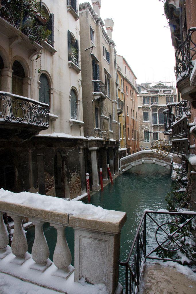 Snow Venice Italy.......                                                                                                                                                                                 Mais