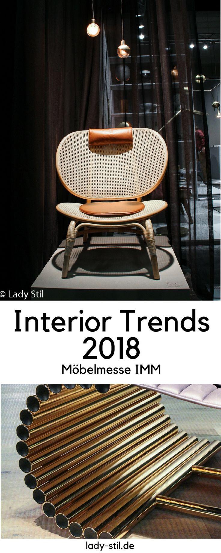 Interior Trends 2018 Möbeltrends Möbelmesse IMM Köln, Messeeindrücke von de Sede, ClassiCon, Artflex, by Lassen, Design House Stockholm, Gazzda, leolux, Menu,uvm