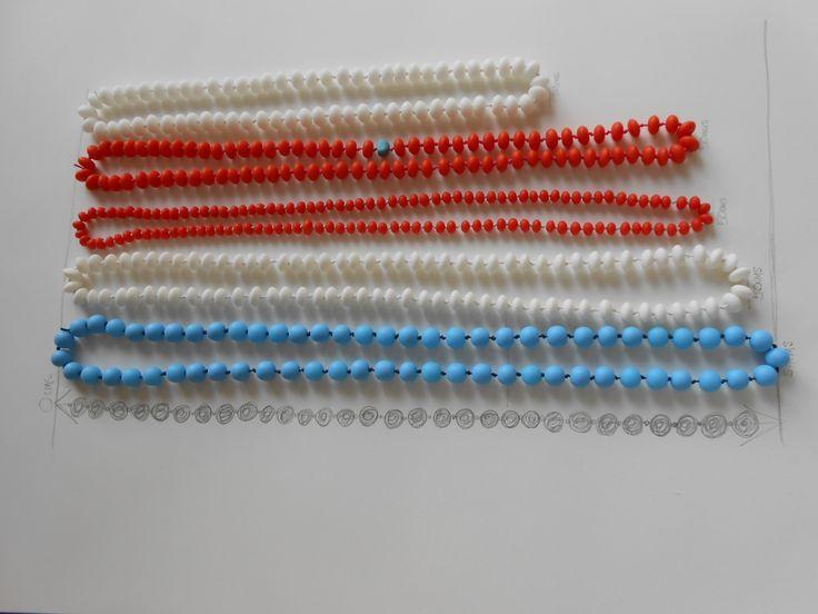 Resin necklaces by homework homewares: www.homeworkhomewares.bigcartel.com