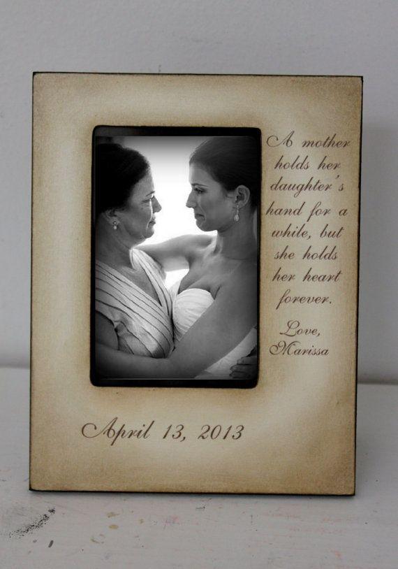 Mother Daughter  Wedding Frame Bride Keepsake by DeSiLuCoLLecTioN, $45.00